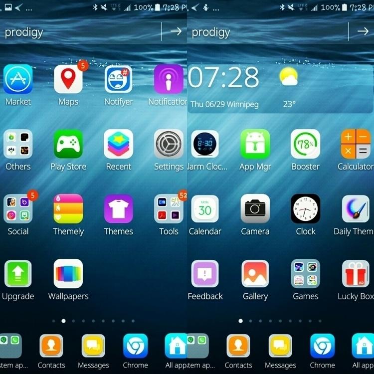 Launch ENJOY - Theme, Android/#Samsung - lordkrazymoose   ello