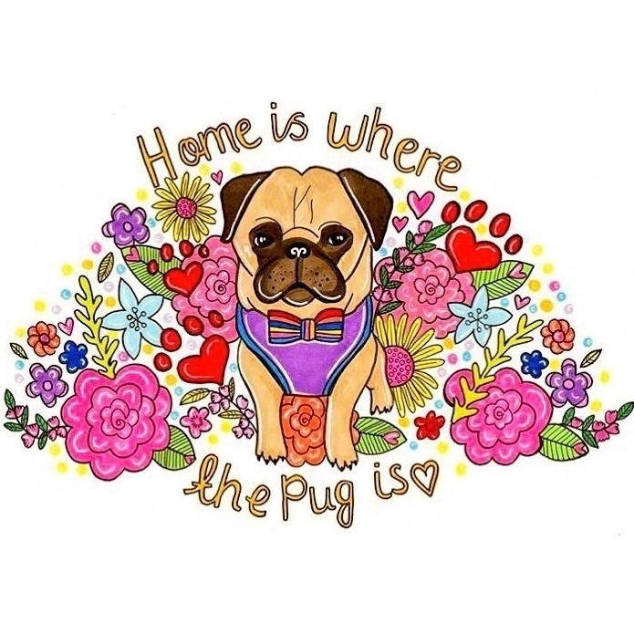 page find lots puggy themed pos - homeiswherethepugis | ello