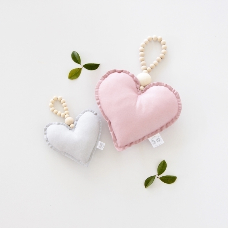 pretty heart drops grey dusty p - mysweetlittleroom | ello