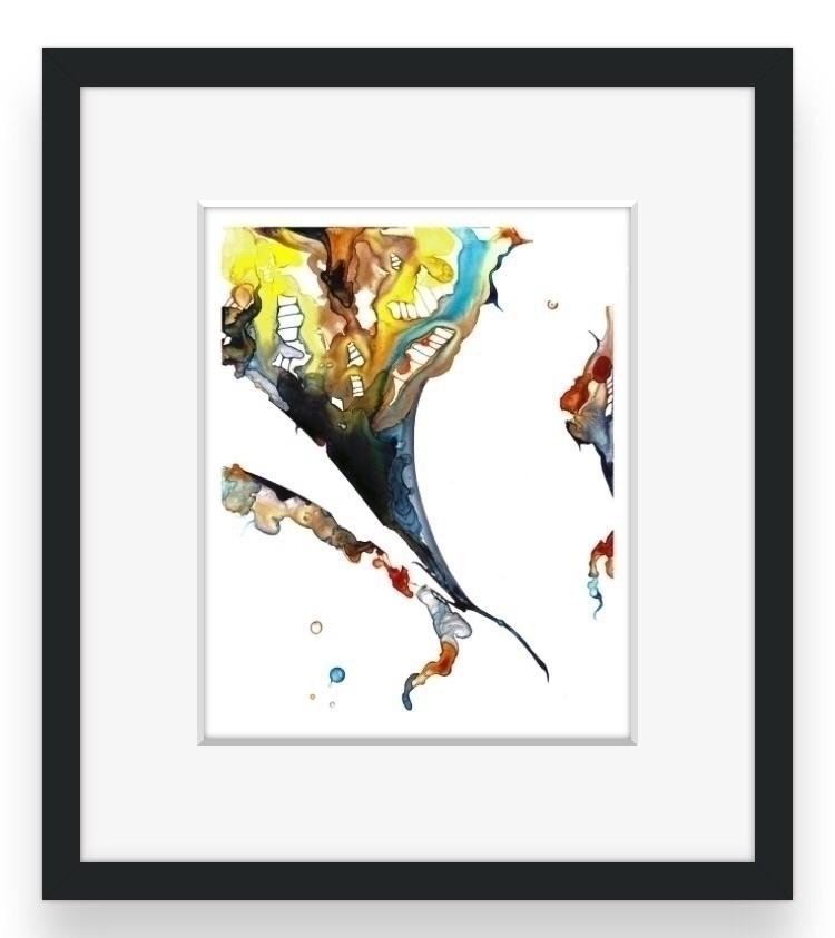 Storm | 8x10 original abstract  - pla-art-design | ello