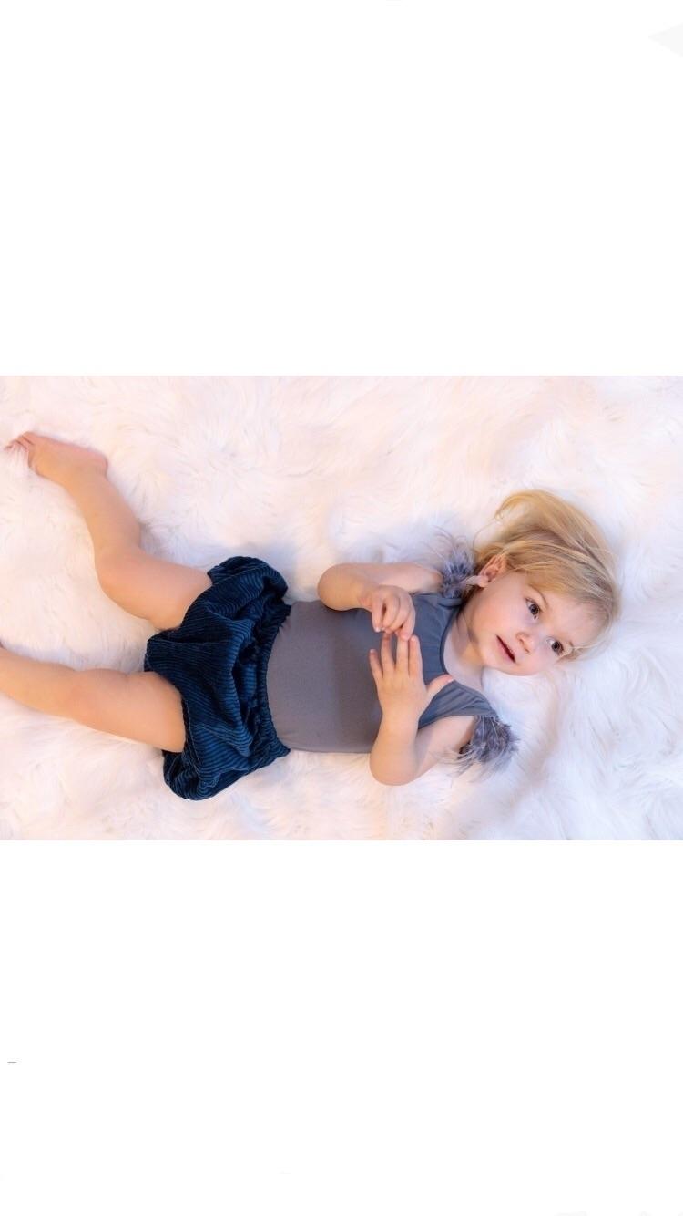 ~ Sapphire Shorties Fresh Singe - poppyharper_thelabel | ello