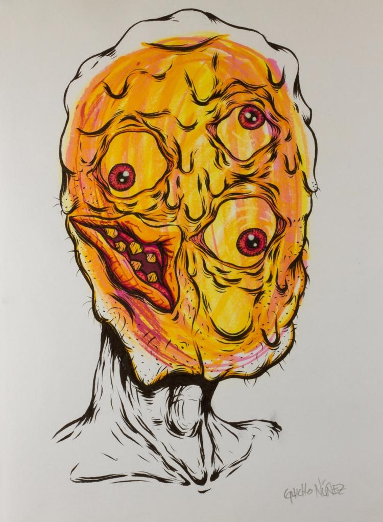 dibujo, draw, drawing, face, rostro - guicho_nunez | ello