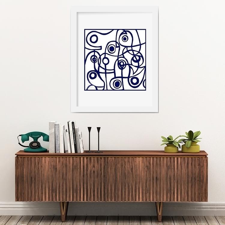 MODERNIST BLUE: part Scandi: pa - emiliofrankdesign | ello