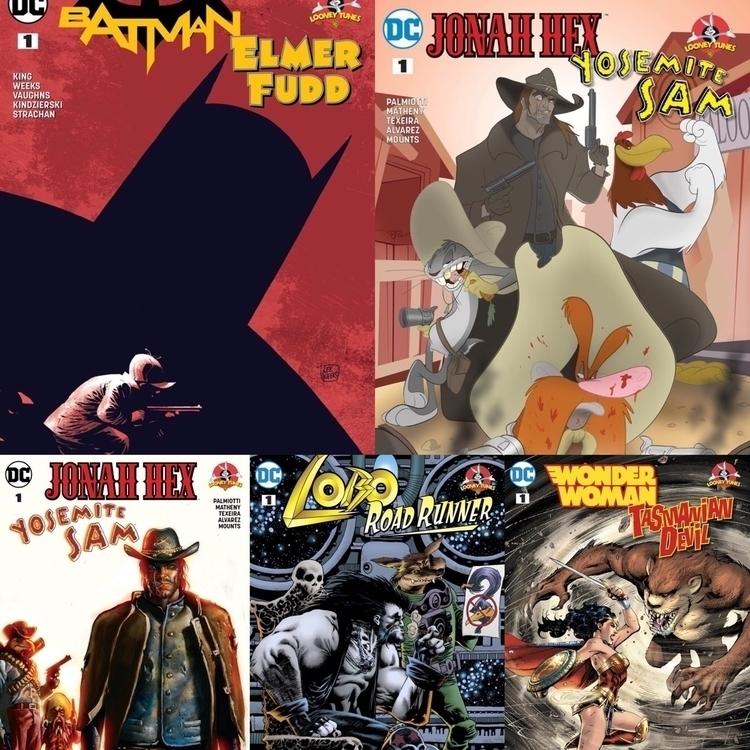 Lots DC Looney Tunes crossovers - cosmicreads | ello