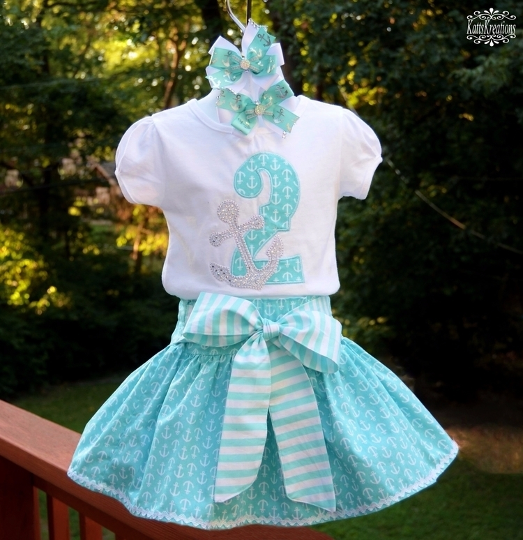 Nautical Birthday Outfit..Inclu - kattskreations | ello