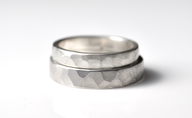 Silver Ring Set - rings - modern - mineralrare | ello