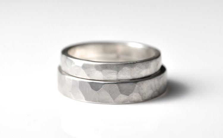 Silver Ring Set - rings - modern - mineralrare | ello