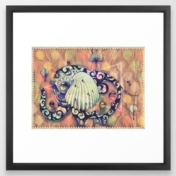 Framed Giclèe art print  - wallart - trinkl | ello