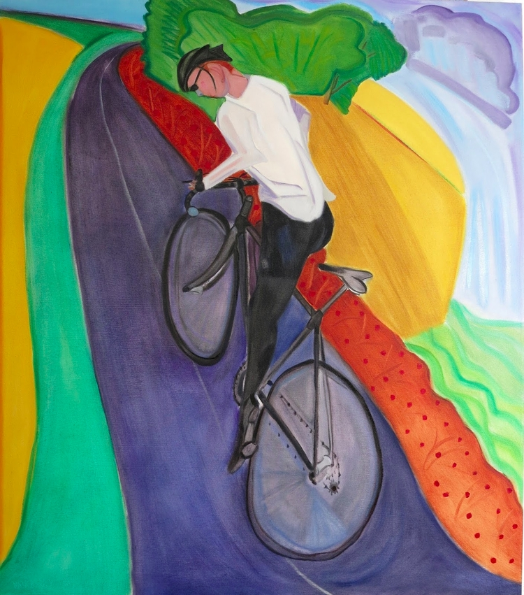 Commencer! Climb, oil/canvas, 5 - markbarry | ello