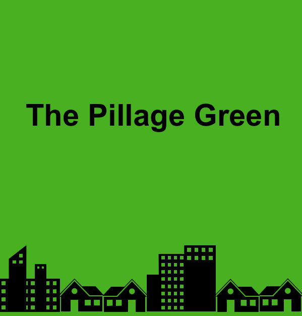 "Pillage Green ""Burn, baby, burn - michaeldriver | ello"