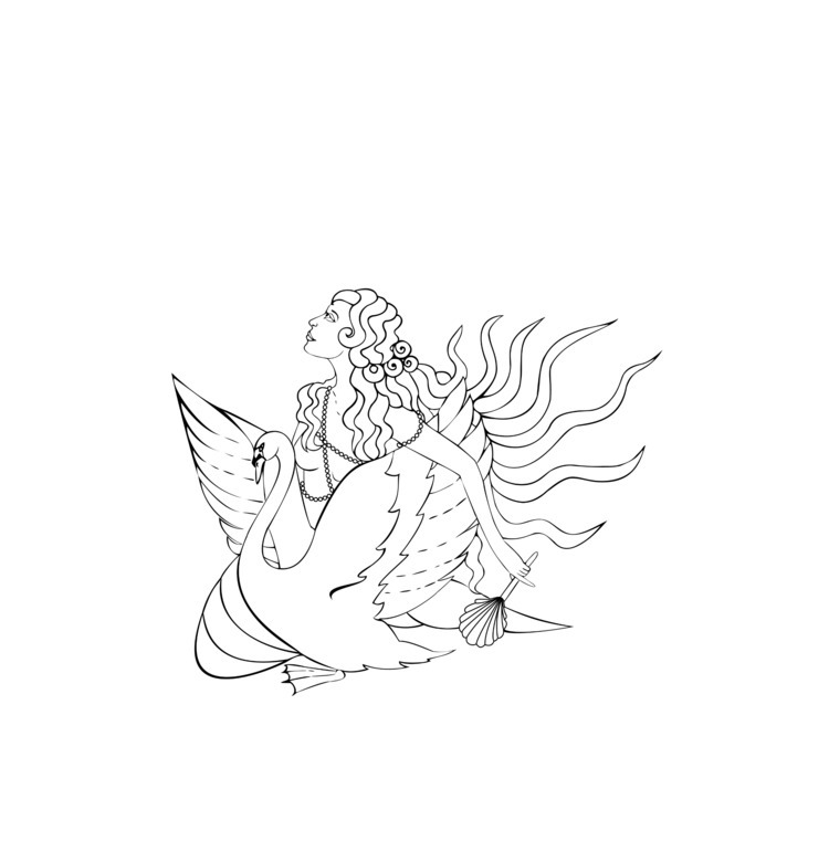 Golden Kypria, Aphrodite. Godde - haleh_creates   ello