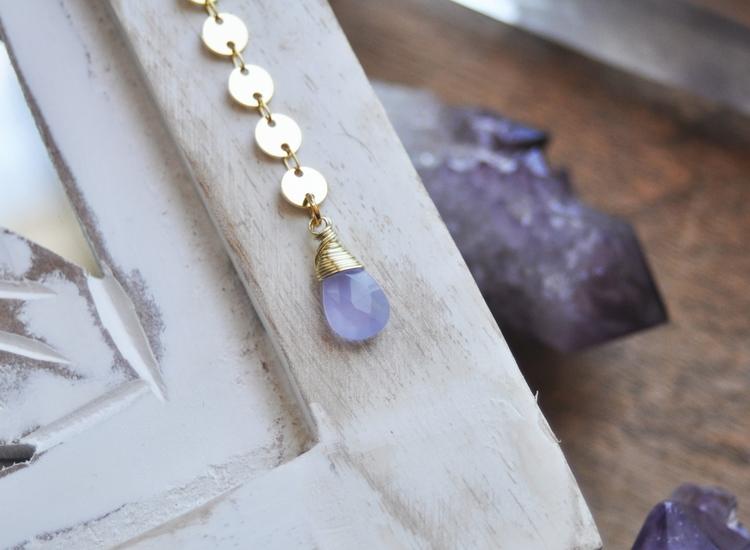 delicate, purple, amethyst, crystal - fawinginlove | ello