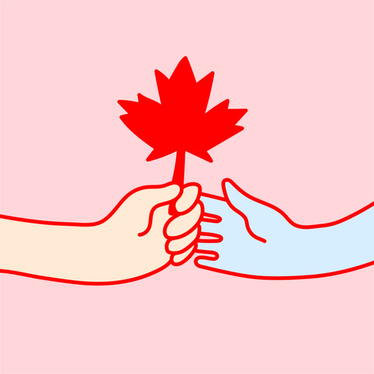 Happy Canada Day - illustration - heybop   ello