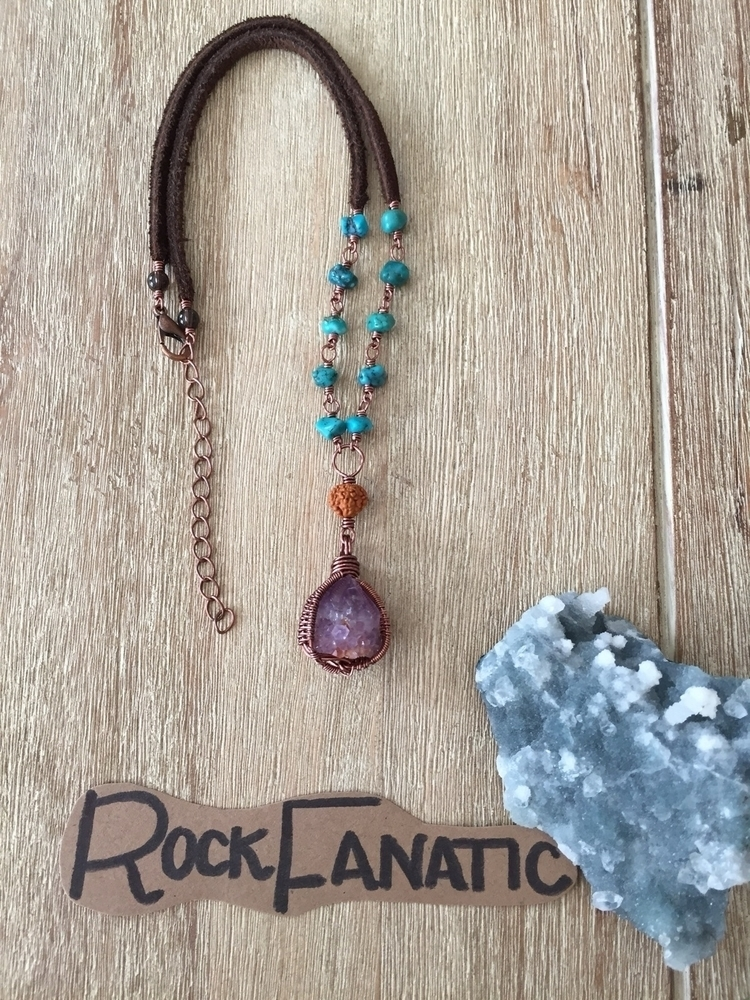 shop: Amethyst spirit quartz ch - rockfanatic | ello