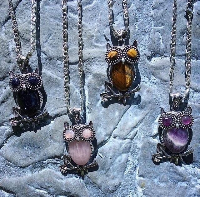 Owl Stone Pendants 🦉 forget 20 - aljewelers | ello