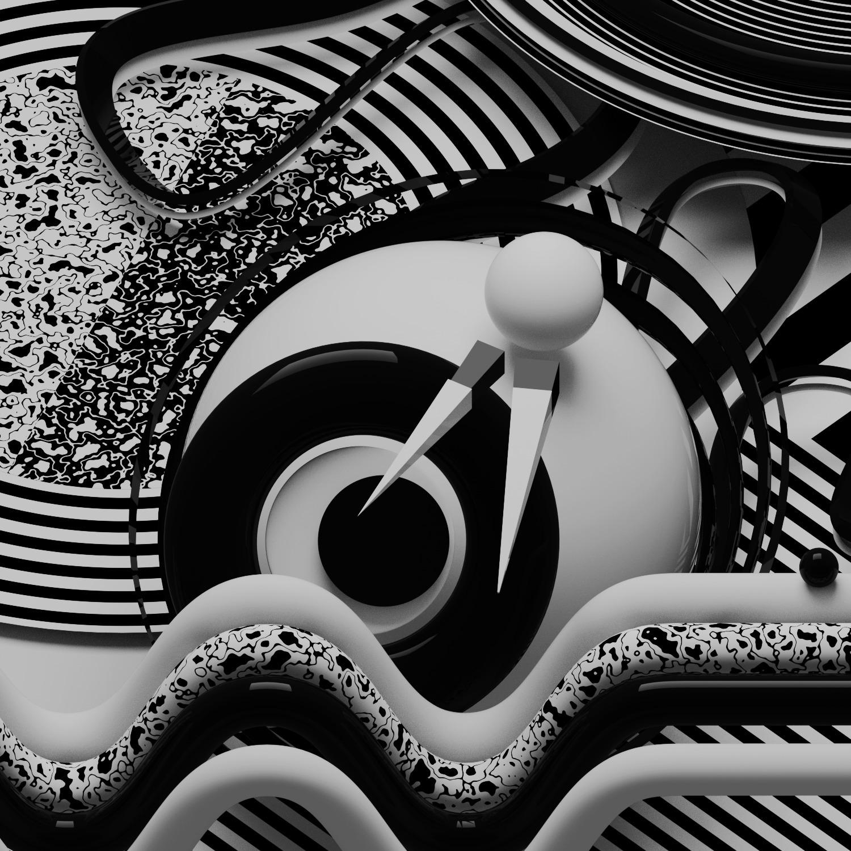 b3D, 3D, abstract, design, art - ikiste | ello