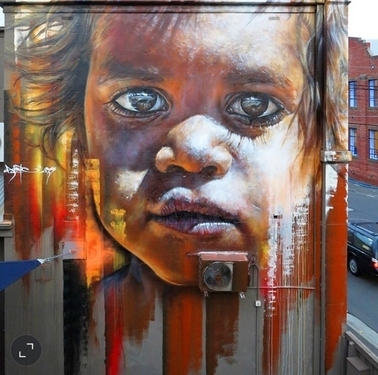 Street art Adnate - graffiti, graffitiart - bitfactory   ello
