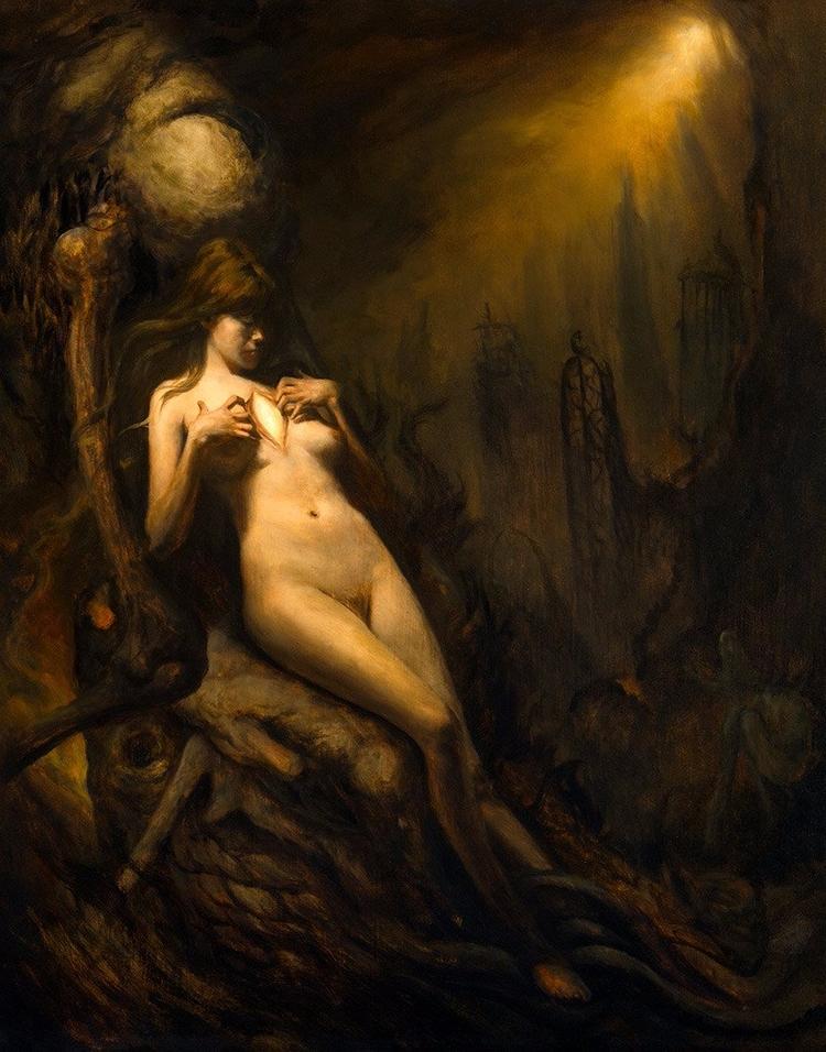 Forgiveness, oil painting Micha - moderneden | ello
