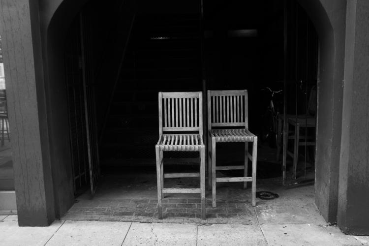 seats - blackandwhite, minimalism - shanobi_juan_kanobi   ello