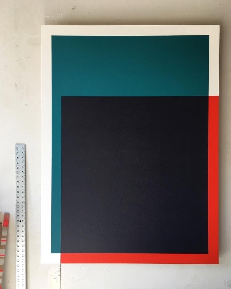 Shift 36 48 Acrylic board - Colorfield - andrew_faris   ello