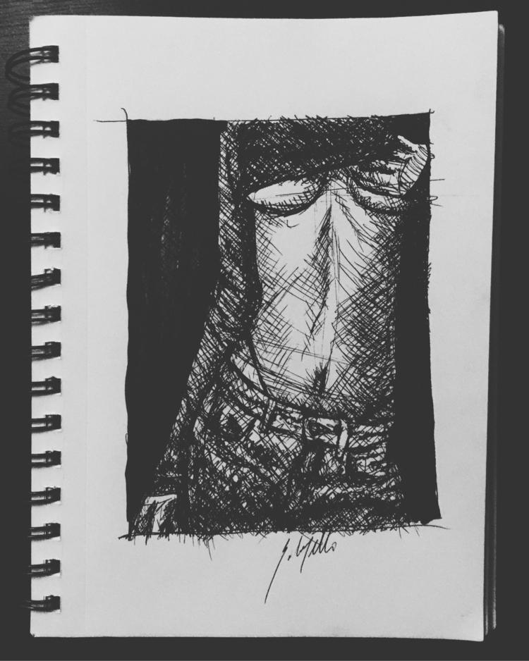 elloillustration, penandonk, sketchbook - emiledidit | ello