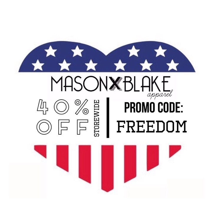 40% STOREWIDE! Promo Code: FREE - masonblakeapparel | ello