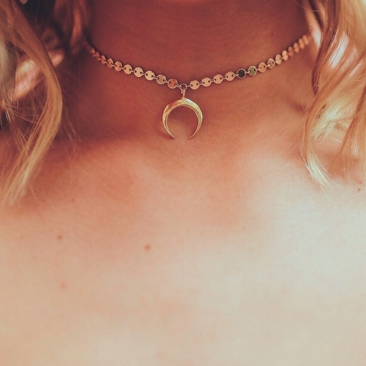 Horn Choker - jewelry, choker, necklace - artofsunshine | ello