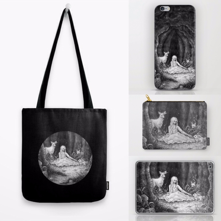 updated designs Society6 shop!  - sandrahultsved | ello