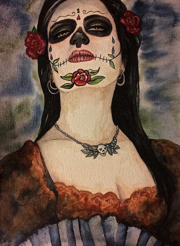 Portrait. Watercolor - art, watercolor - 13thmuse | ello