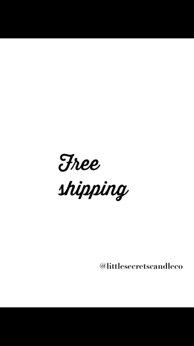 Free Shipping day - code needed - littlesecretscandleco | ello