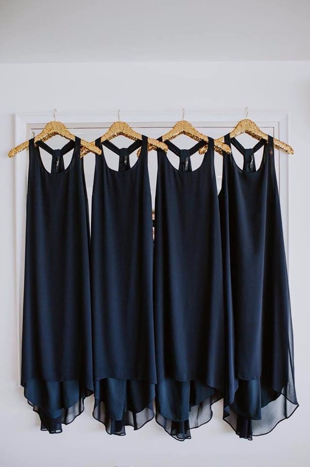 Bridesmaid Dresses hanging gold - sweetyellowdecor | ello