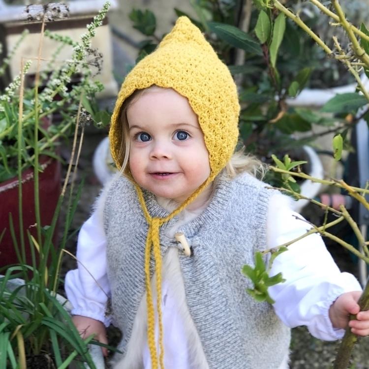 pixie garden Bonnet  - cute, instababy - tegan_jean | ello