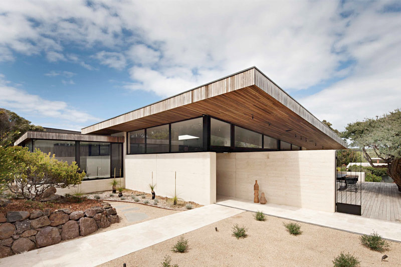 Rammed Earth Timber Feature Aus - red_wolf | ello