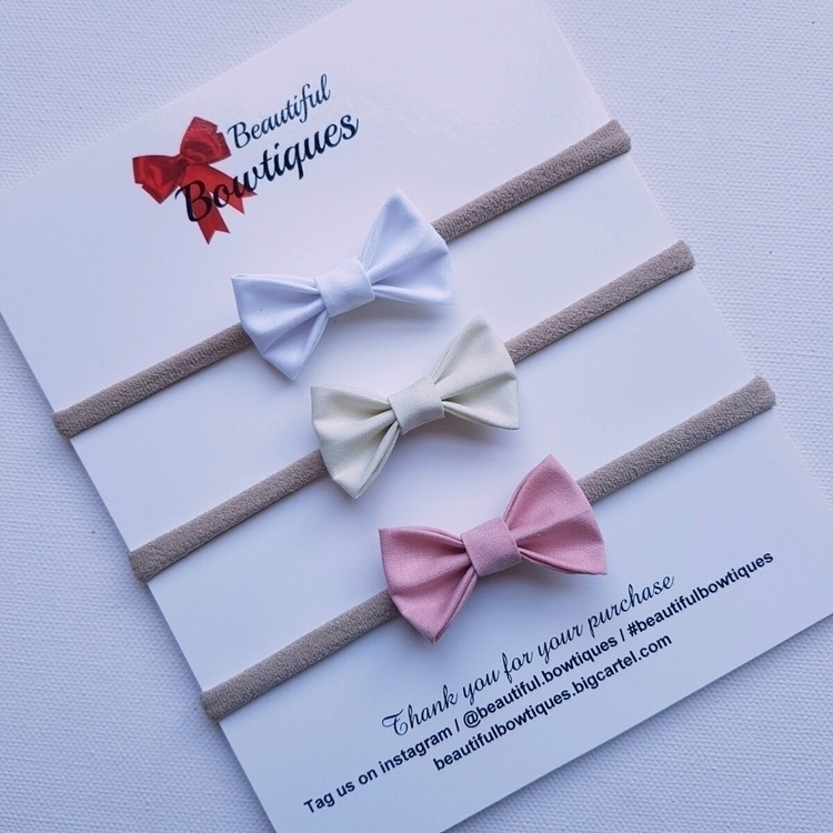 gorgeous fabric bows online wee - beautifulbowtiques | ello