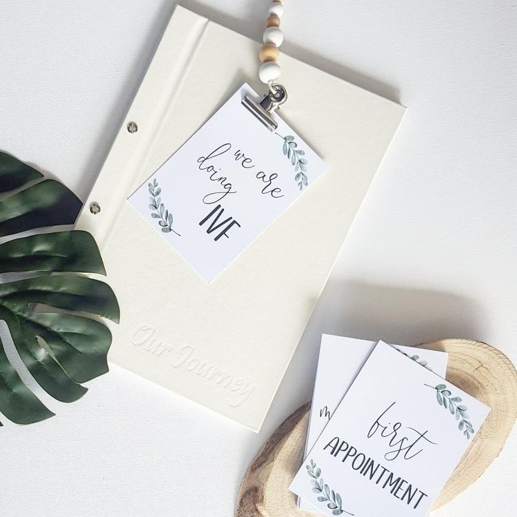 • IVF covered! Milestone Cards  - featherandfawn   ello