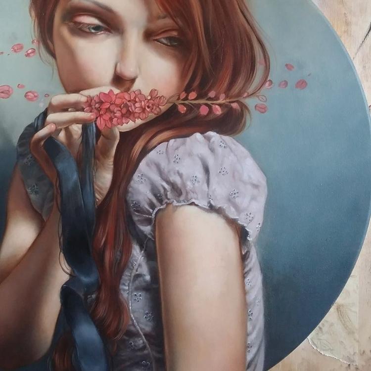 progress. Oil canvas Modern Ede - ania_tomicka | ello