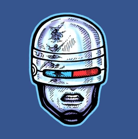 OCP Robocop upgrade, upholding  - bradalbright | ello