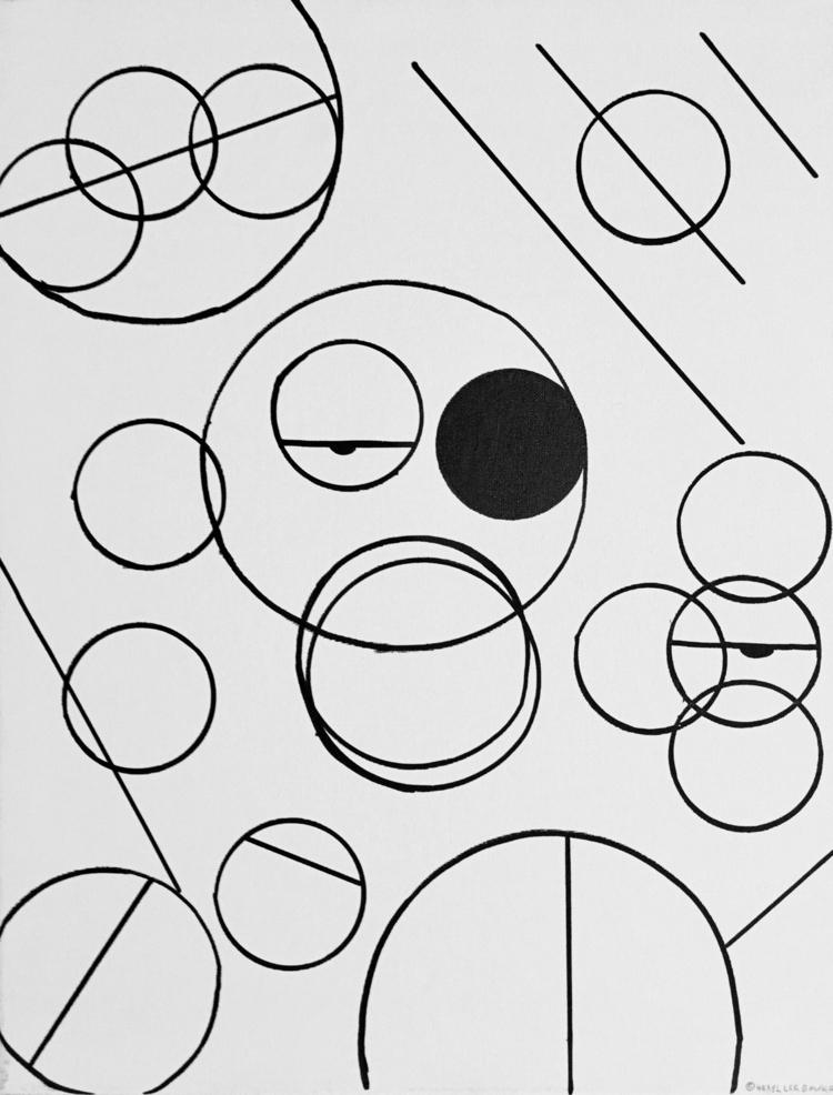 Eye Circumference - elloart, marker - cherylleebowers | ello