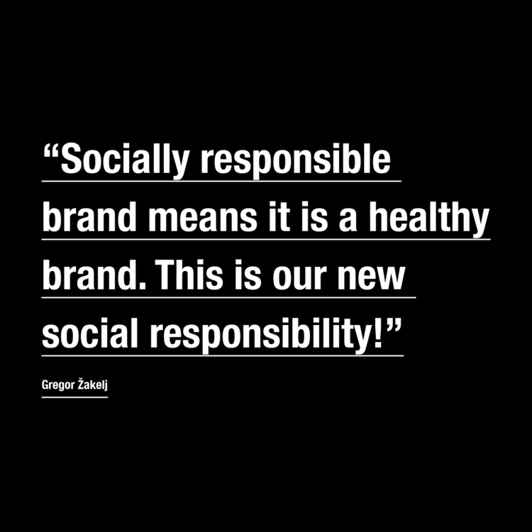 Wrote words social responsibili - gregorzakelj | ello
