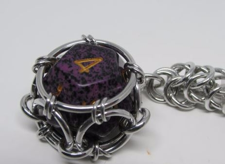 Awesome Chain mail Dice Key $10 - kettenglied | ello