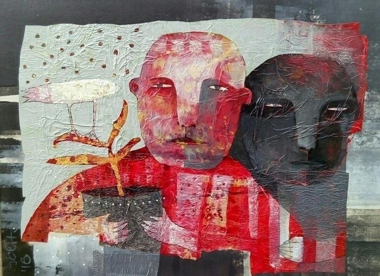 "shadow"" acrylic canvas 80x60 jo - jolitacc | ello"