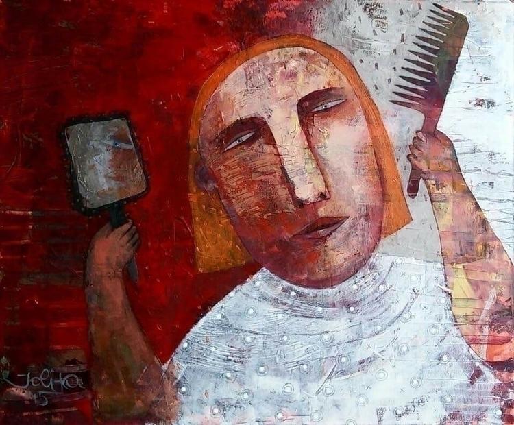 day acrylic canvas 50x60 jolita - jolitacc | ello