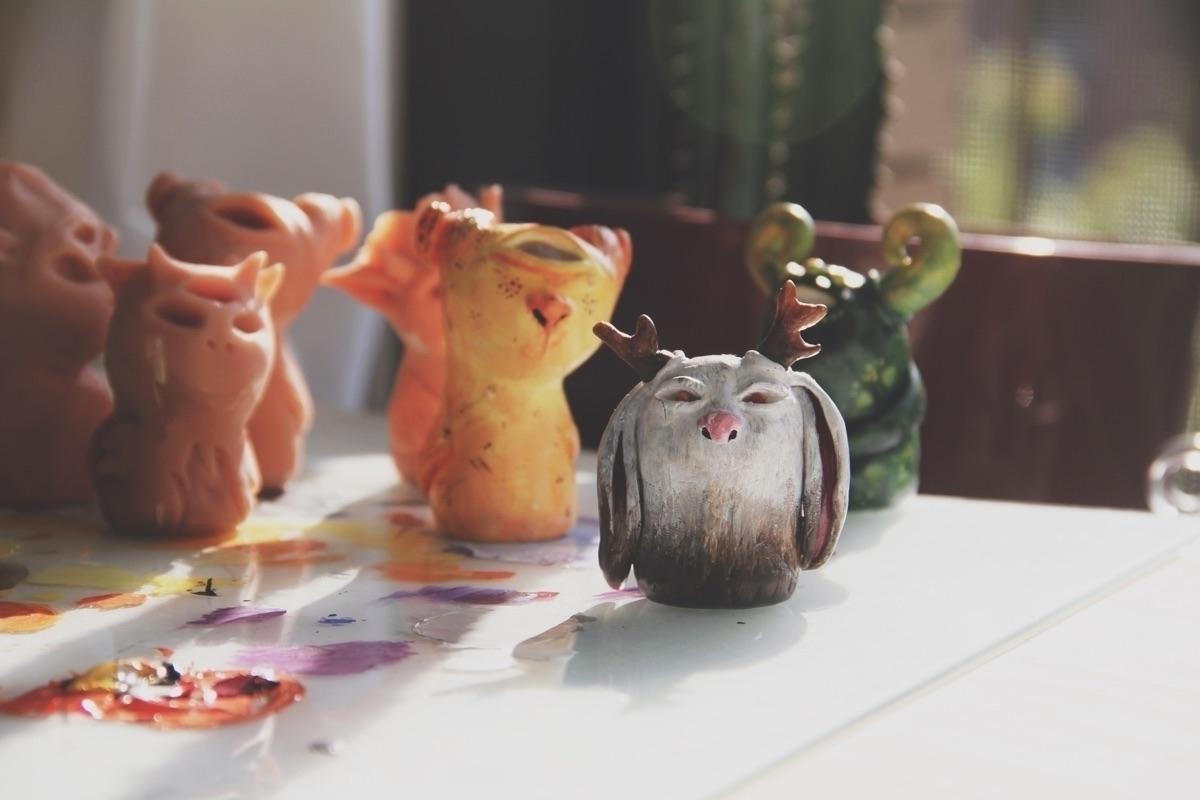 Painting creatures archives  - totem - mikaelaelle | ello