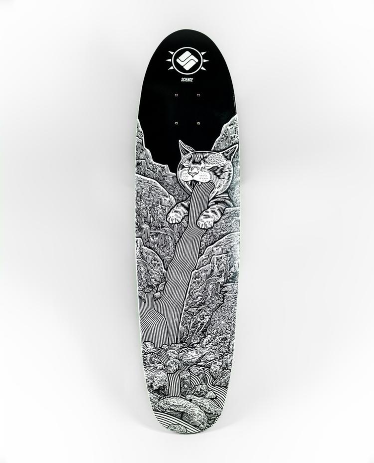 'Sickest Cats' artwork Matthew  - scienceskateboards | ello