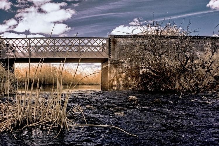 IR river Cherwell crossing - infrared - toni_ertl | ello