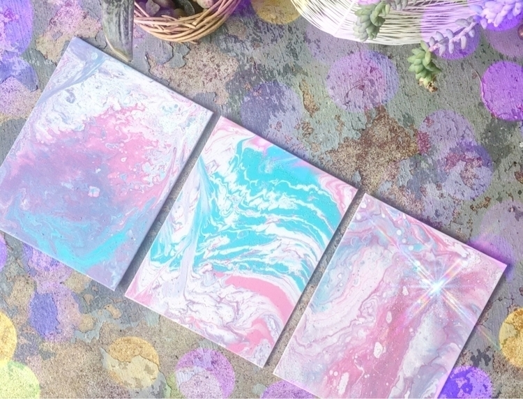 Cotton Candy Dream trio shop - acrylic - thatgirlstayce | ello