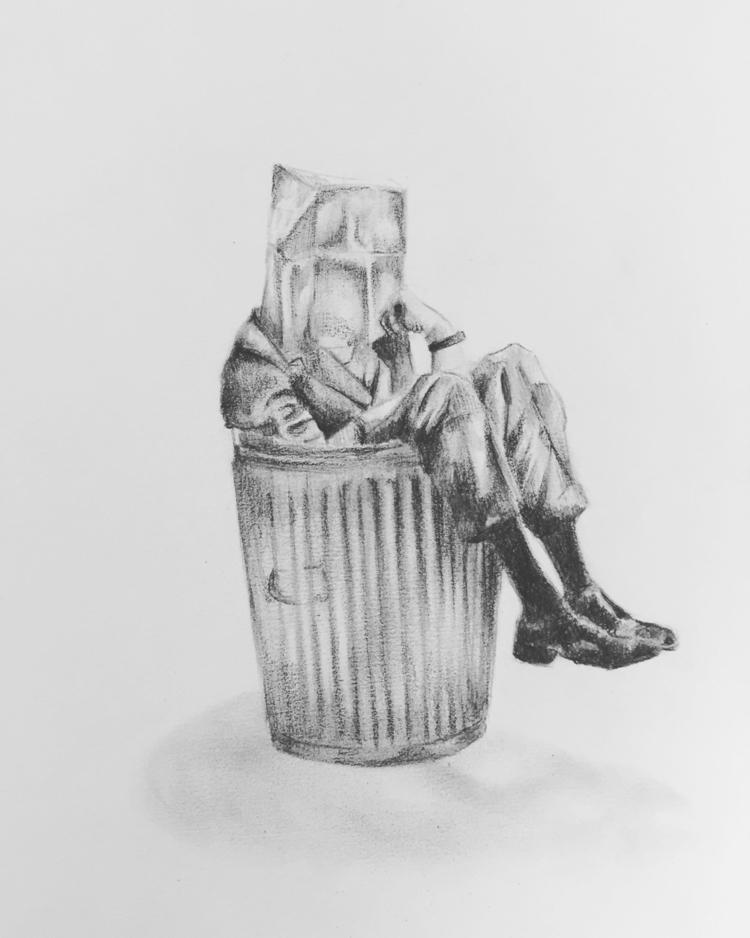 Missing, 2014 - drawing, art, comtemporaryart - sebastianvdp | ello