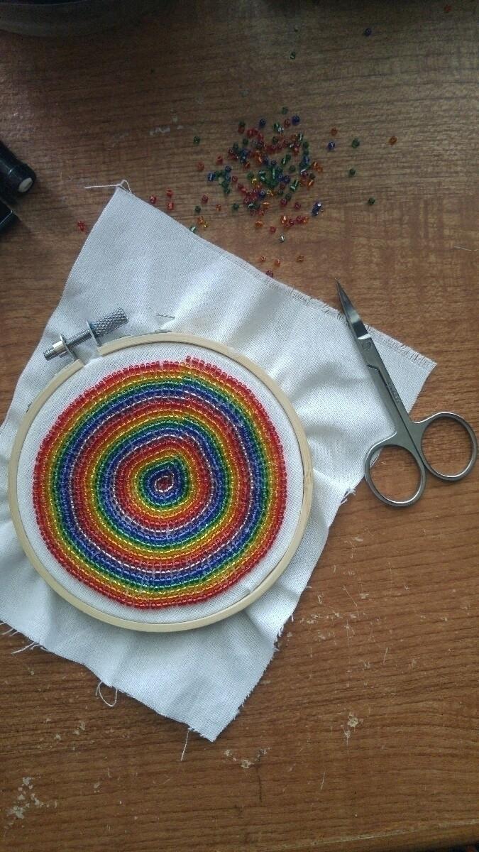 Practice - embroidery, beading, beaded - ryenpine | ello