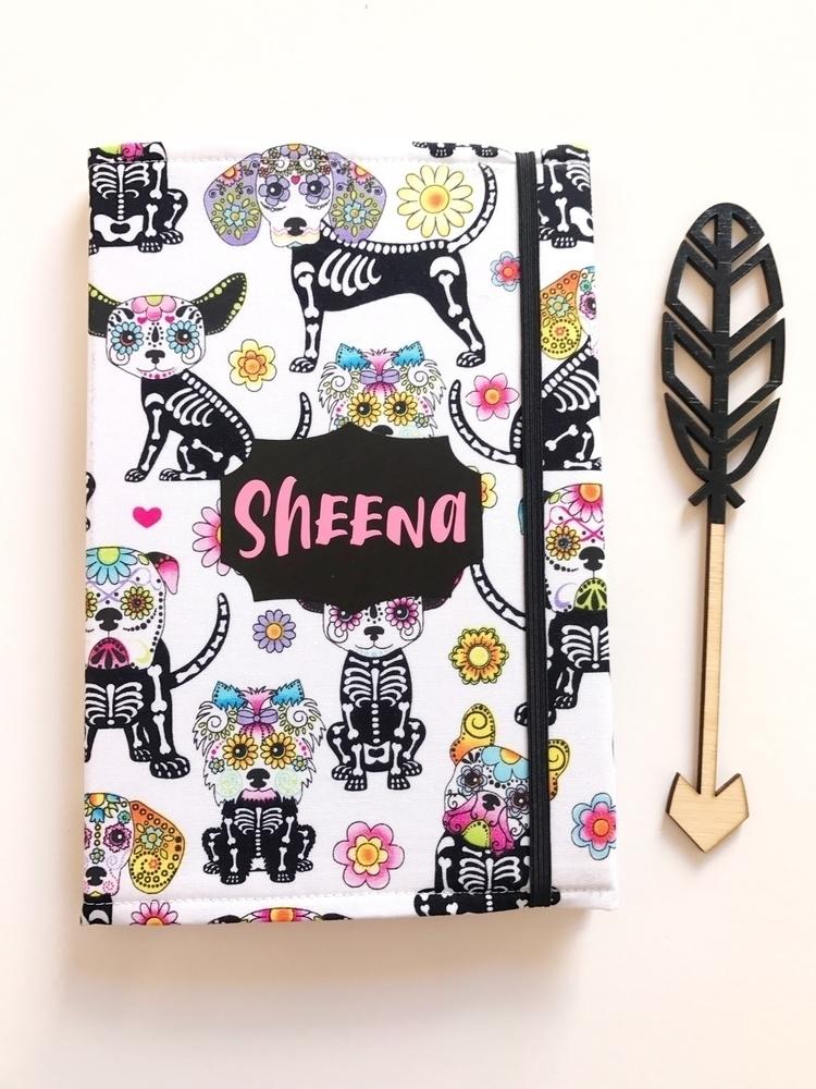 pretty A5 notebook skeletal hou - finndieloo | ello