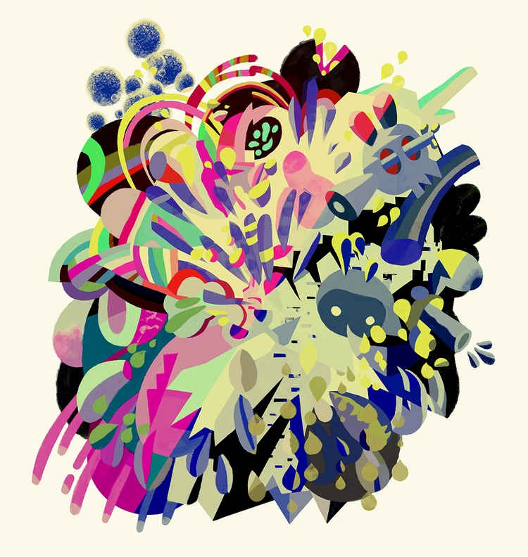 abstract, painting, artwork, art - sasharinaldi   ello